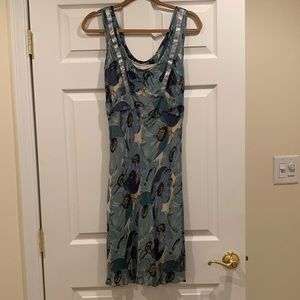 Betsy Johnson Floral 2 piece slip dress